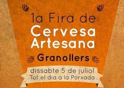 FIRA CERVESA ARTESANA DE GRANOLLERS